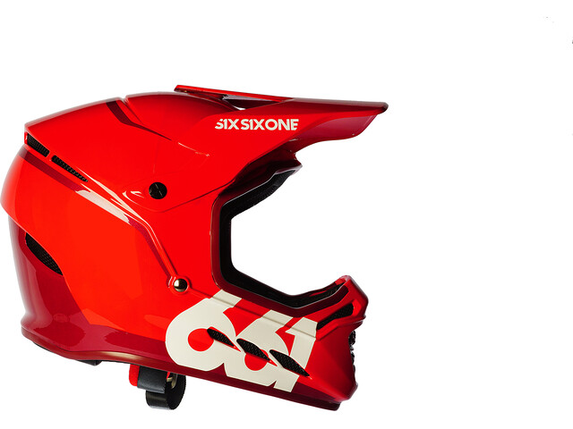 SixSixOne Reset Fullface Helm matador red